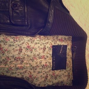 Ted Baker 100% Leather Jacket
